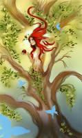 Tree of knowledge WIP by Naralim