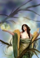 Demeter's sorrow by Naralim