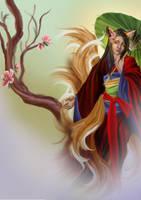 Kitsune by Naralim