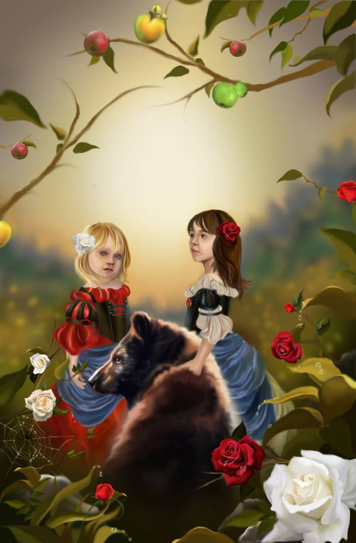 Snowwhite and Rosered New
