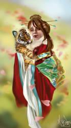 Emmy's tiger by Naralim