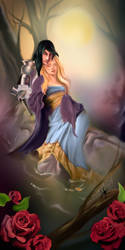 Lady of shallott colors by Naralim
