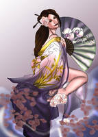 Ren's geisha fantasy by Naralim