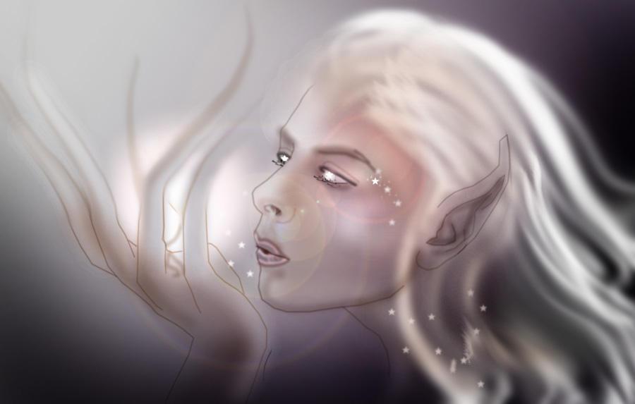 Kiss the stars by Naralim