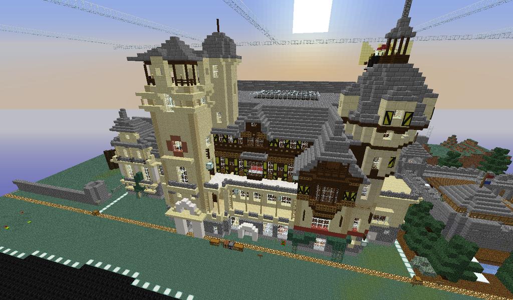 Peles Palace Rumania Minecraft By Zugai