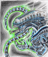 Tribute to the Original Alien by Nathaldron