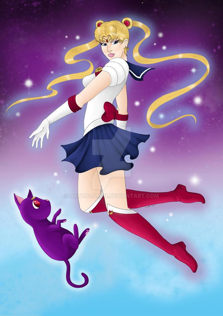 Sailor Moon by Nathaldron
