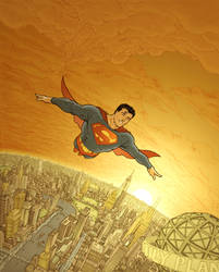 Superman by RyanBodenheim