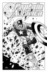 Captain America by RyanBodenheim