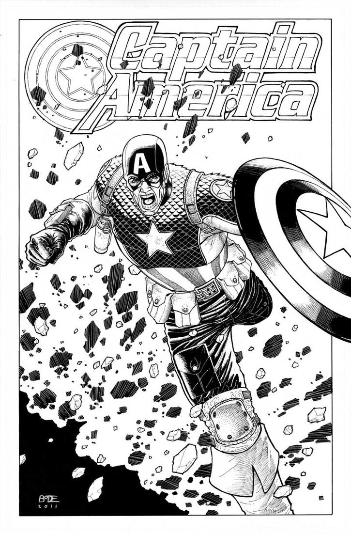 Captain America by RyanBodenheim