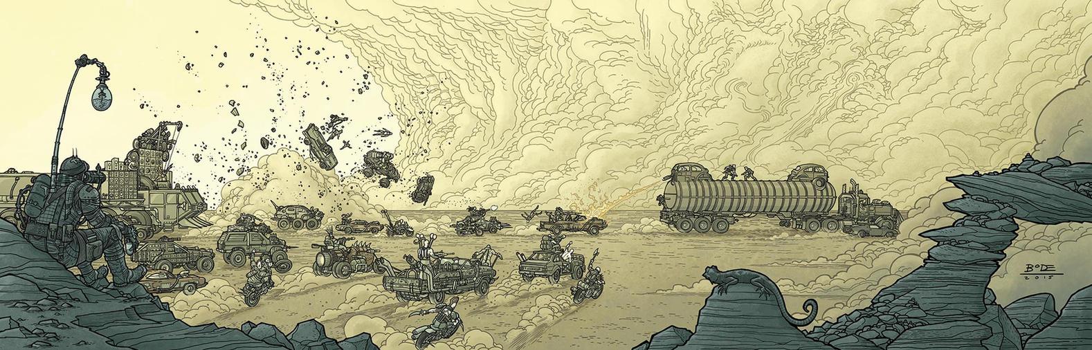 FuryRoad Print by RyanBodenheim