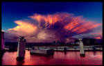 Clouds explosion