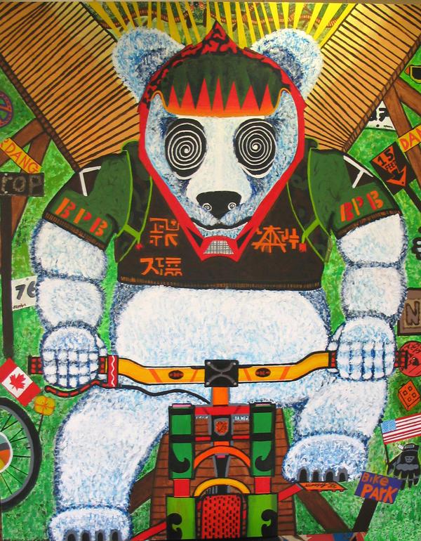 Zach Korn Big Panda by zachk