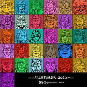 Facetober 2021: DND NPCs Edition