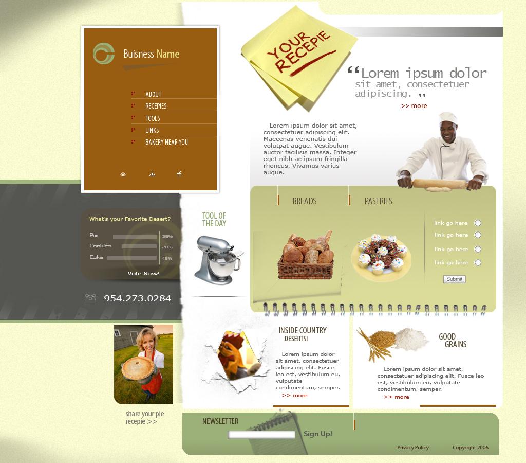 Bakery_site by BobbyG12