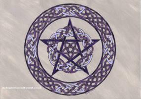 Pam's pentagram by spookyt5