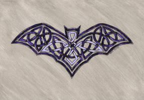 celtic bat by spookyt5