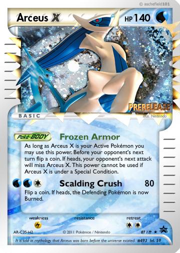 Arceus x by aschefield101 on deviantart - Pokemon arceus ex ...