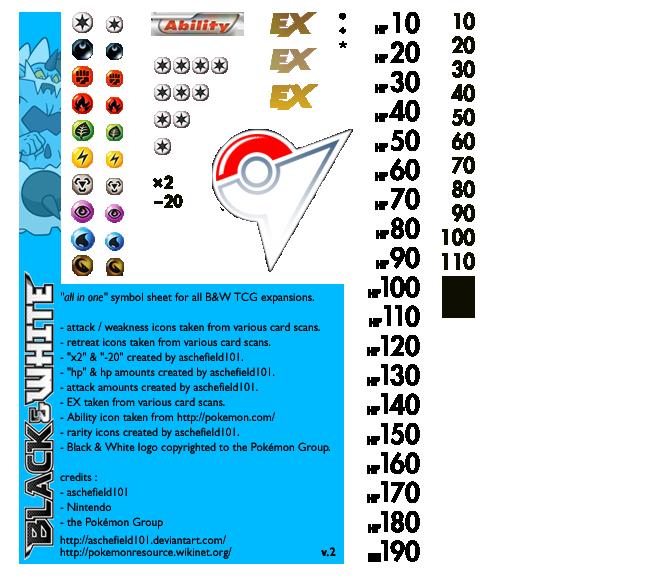 Pokemon Card Deck Symbols
