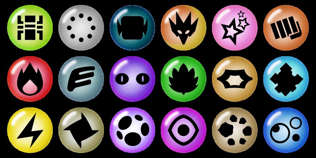 Pokemon Energy Symbols