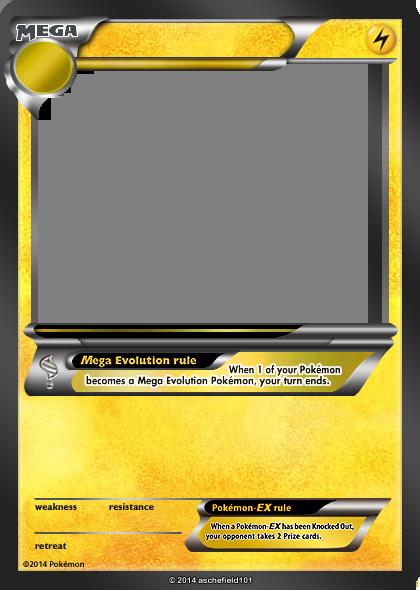 lightning link template - xy blanks mega lightning by aschefield101 on deviantart