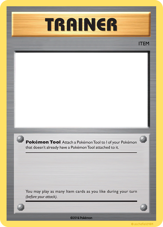 20th Trainer Item Tool by aschefield101