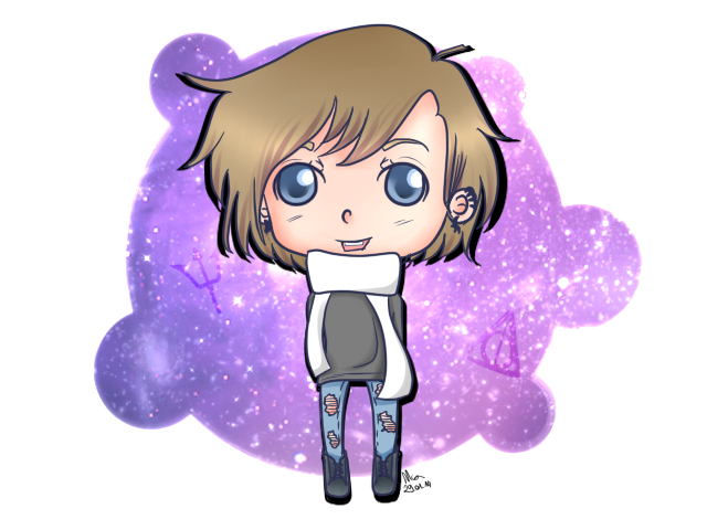 Chibi self by Mahine-chan