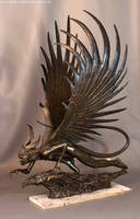 Harpy Sculpture 4 Copy by artyandy