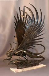 Harpy Sculpture 4 Copy by artyandy