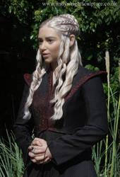 Daenerys life size statue