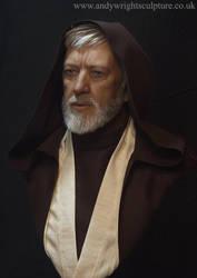Obi wan Kenobi life size silicone bust sculpture