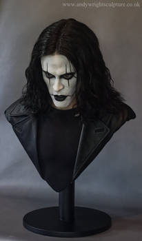 The Crow bust 2