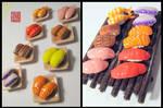 Sushi Platter Miniature