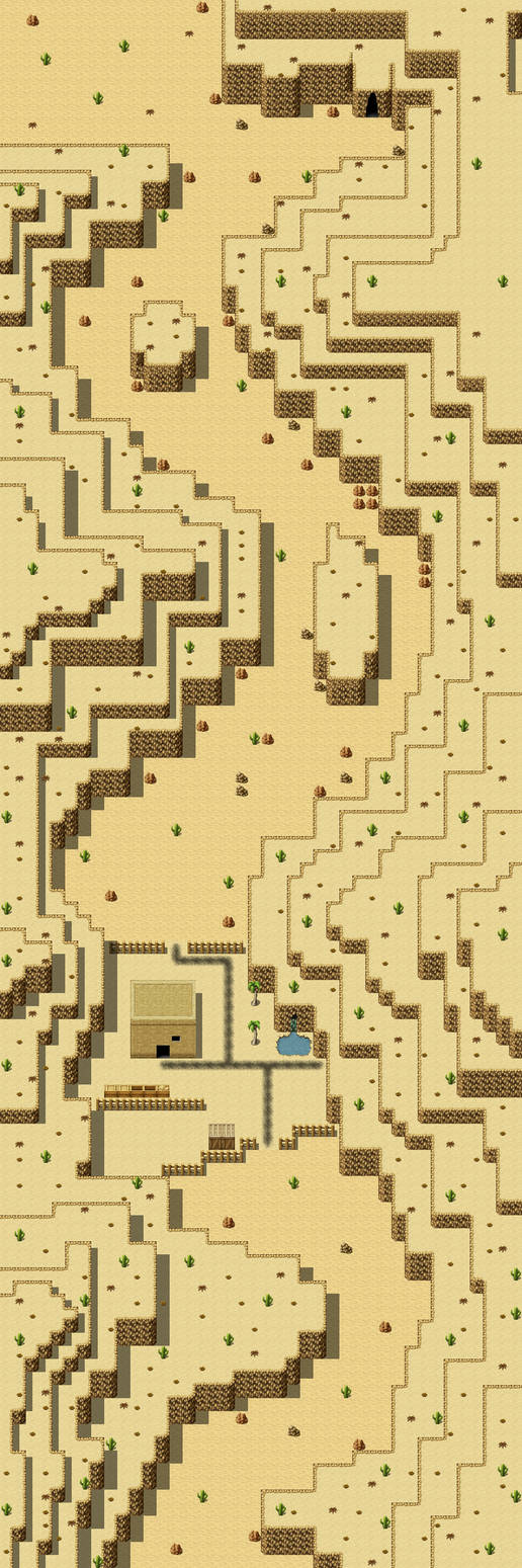 Rpg maker mv Map: Anosira Desert Canyon by Babblerab on DeviantArt
