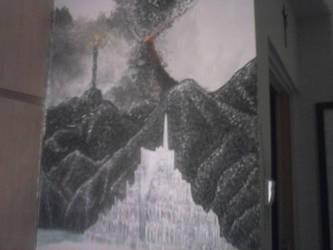 Minas Tirith WIP2 by Glorfindelle