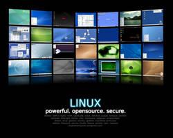 Linux: where dreams come true. by Coronastx