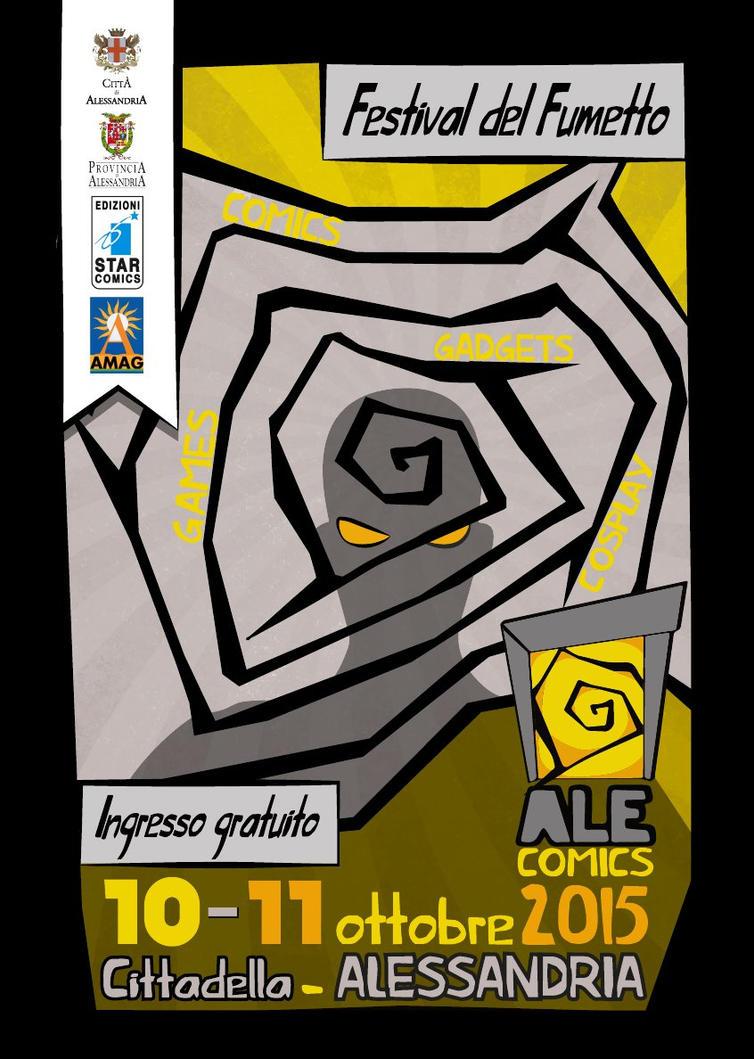 Locandina Alecomics by ALEcomics-FdF