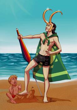 Loki- Destroyer of children's sand castles