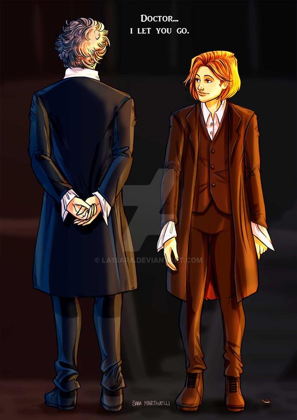 Doctor...I let you go. by La1sara