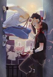 Kiss by MaterArsenic