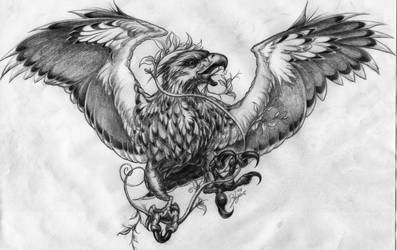 Roman Eagle by OMtNI