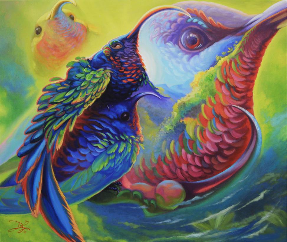 Bird Set Free by OMtNI