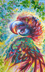 Light Bringer - Sisserou Parrot