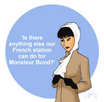 Bond Girls - Madame LaPorte by DubyaScott