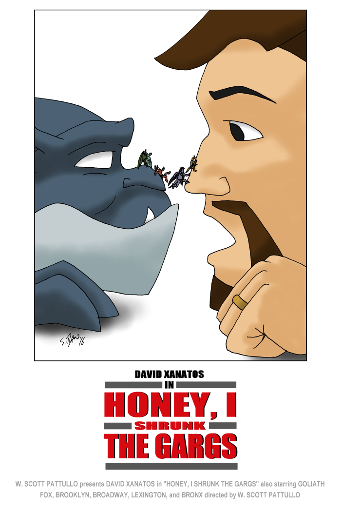Honey, I Shrunk the Gargs by DubyaScott