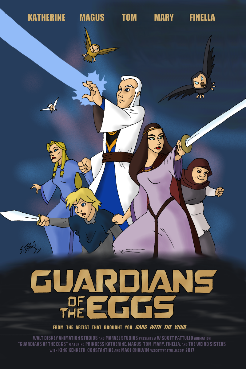 Guardians of the Eggs by DubyaScott