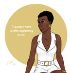 Bond Girls - Rosie Carver by DubyaScott
