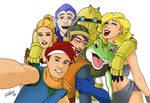Crono selfie (Chrono Trigger 25th Anniversary)