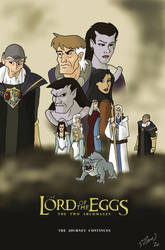 The Lord of the Eggs: The Two Archmages by DubyaScott