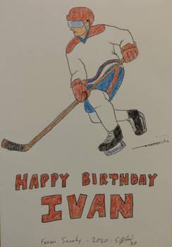 Birthday card (December 2020)